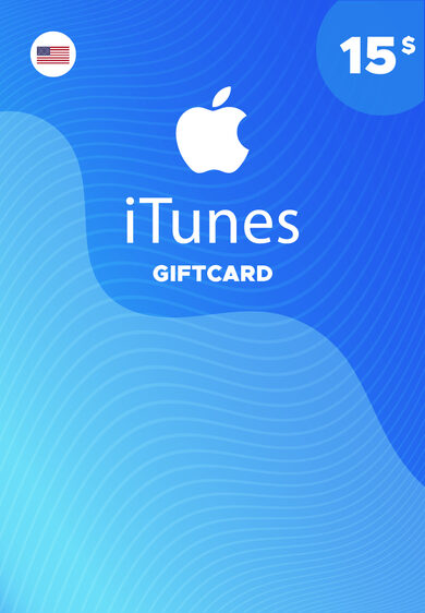 Apple iTunes Gift Card 15 USD iTunes Key NORTH AMERICA