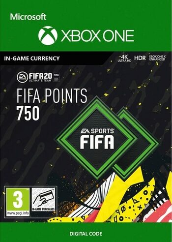 FIFA 20 - 750 FUT Points (XboxOne) Xbox Live Key GLOBAL