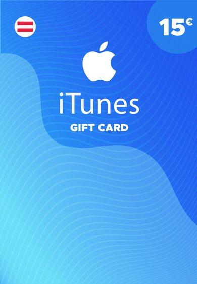 Apple iTunes Gift Card 15 EUR iTunes Key AUSTRIA
