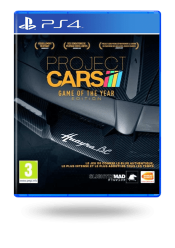 Project CARS Game Of The Year Edition PlayStation 4