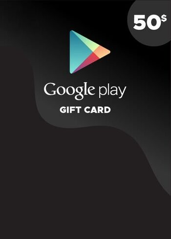 Google Play Gift Card 50 CAD Key CANADA