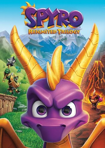 Spyro Reignited Trilogy Steam Key GLOBAL