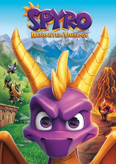 Spyro Reignited Trilogy Steam Key GLOBAL фото