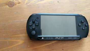 PSP Street (E1000), Black, 16GB