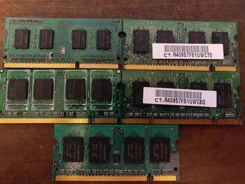Buy Loptopo 4x DDR2 + 1x DDR3 Ramai. Neištestuoti.