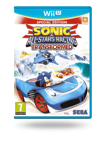 Sonic & All-Stars Racing Transformed Wii U