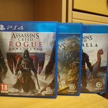 Assassin's Creed kolekcija - 3 žaidimai