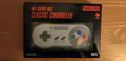Manette Super NES Wii Collector Club Nintendo