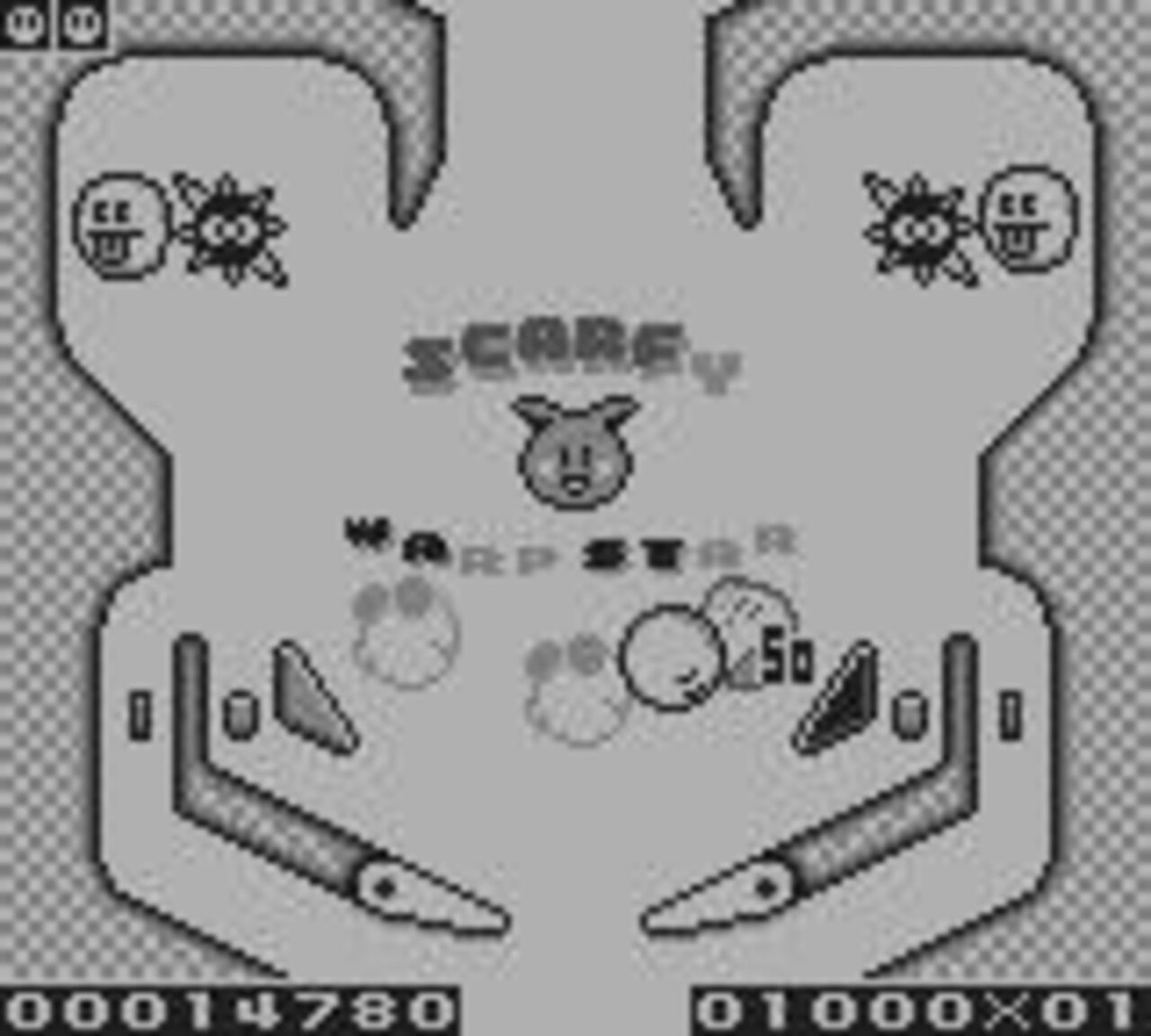 Kirby's Pinball Land (1993) Game Boy
