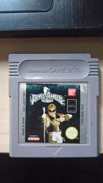 Mighty Morphin Power Rangers: The Movie Game Boy