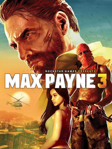 Max Payne 3 Rockstar Games Launcher Key GLOBAL