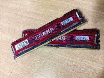 Crucial Ballistix Sport 8 GB (1 x 8 GB) DDR4-2400 Gray / Silver PC RAM
