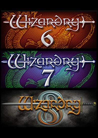 Wizardry 6, 7, and 8 Steam Key GLOBAL фото