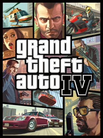 Grand Theft Auto IV Rockstar Games Launcher Key GLOBAL