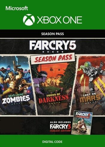 Far Cry 5 - Season Pass (DLC) (Xbox One) Xbox Live Key GLOBAL