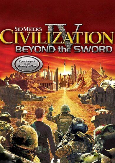 Sid Meier's Civilization IV - Beyond the Sword (DLC) Steam Key EUROPE