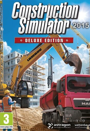 Construction Simulator 2015 Deluxe Edition Steam Key GLOBAL