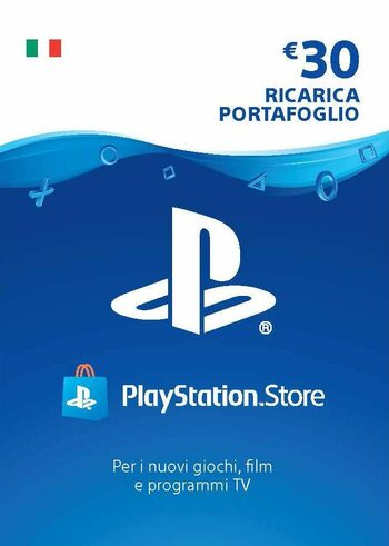 PlayStation Network Card 30 EUR (IT) PSN Key ITALY