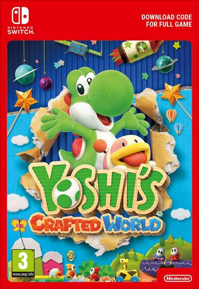Yoshi's Crafted World (Nintendo Switch) eShop Clave EUROPA