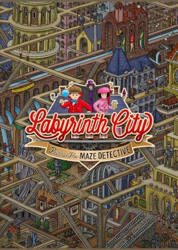 Labyrinth City: Pierre the Maze Detective Steam Key GLOBAL
