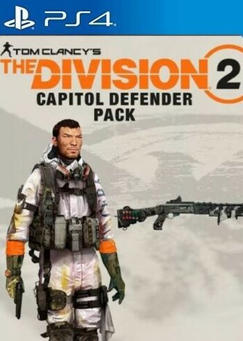 Tom Clancy's The Division 2 - The Capitol Defender Pack (DLC) (PS4) PSN Key UNITED STATAS