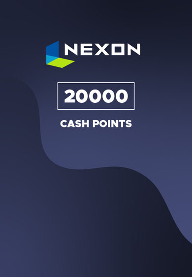 Nexon 20000 Cash Points Prepaid Key EUROPE