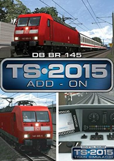 Train Simulator - DB BR 145 Loco Add-On (DLC) Steam Key EUROPE