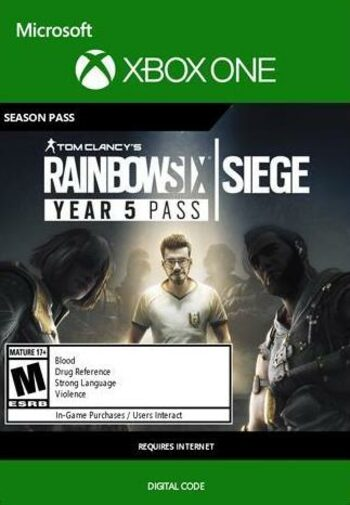 Tom Clancy's Rainbow Six: Siege - Year 5 Season Pass (DLC) (Xbox One) Xbox Live Key UNITED STATES