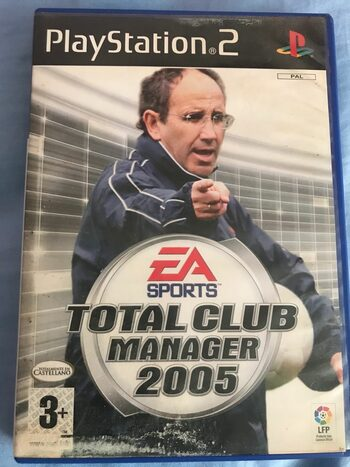 Total Club Manager 2005 PlayStation 2