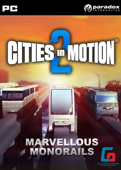 Cities in Motion 2 - Marvellous Monorails (DLC) Steam Key GLOBAL