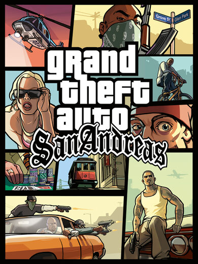 Grand Theft Auto: San Andreas Steam Key GLOBAL