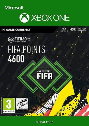 FIFA 20 - 4600 FUT Points (XboxOne) Xbox Live Key GLOBAL