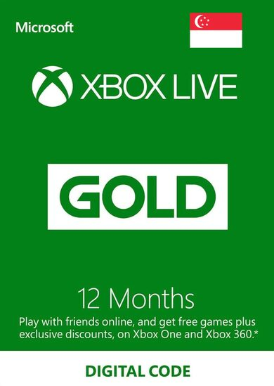 Xbox Live Gold 12 months CANADA