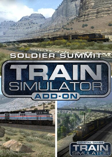 Train Simulator - Soldier Summit Route Add-On (DLC) Steam Key EUROPE