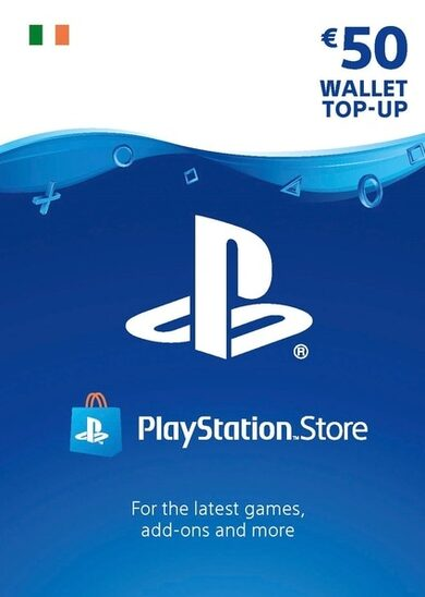 PlayStation Network Card 50 EUR (IE) PSN Key IRELAND