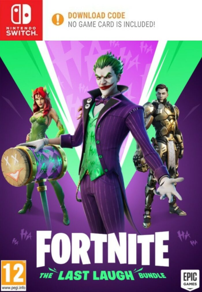 Fortnite The Last Laugh Bundle 1000 V Bucks Cheaper Eneba Tons of awesome the joker fortnite wallpapers to download for free. fortnite the last laugh bundle 1000 v bucks nintendo switch eshop key europe