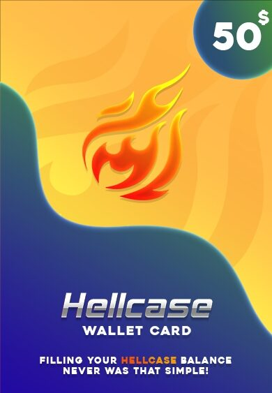 Hellcase.com Wallet Card 50 USD Key GLOBAL