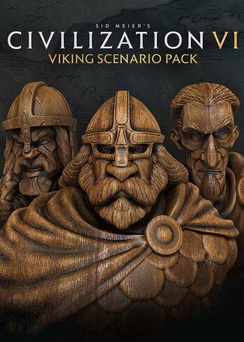Sid Meier's Civilization VI - Vikings Scenario Pack (DLC) Steam Key GLOBAL