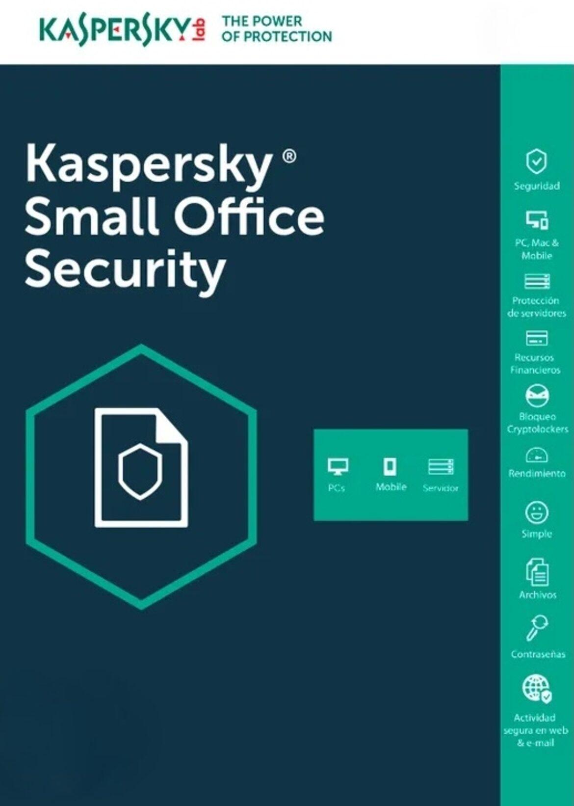 Buy Kaspersky Small Office Security 20 Devices 12 Months Kaspersky Key Global Eneba