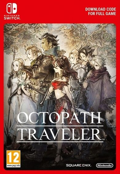 Octopath Traveler (Nintendo Switch) eShop Key EUROPE