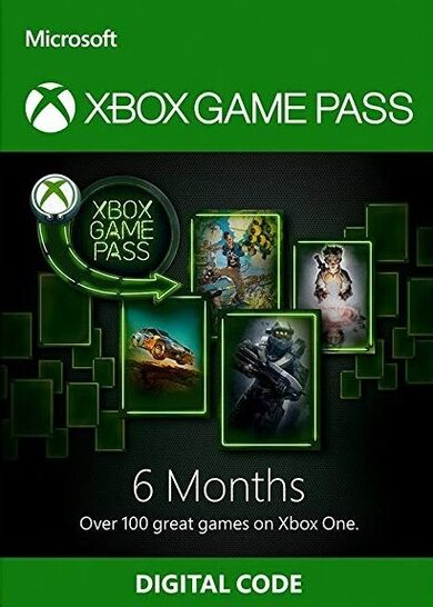 Xbox Game Pass 6 Months Xbox Live Key GLOBAL