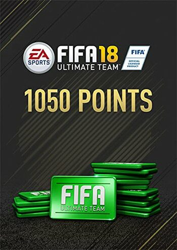 Fifa 18 - 1050 FUT Points Origin Key GLOBAL