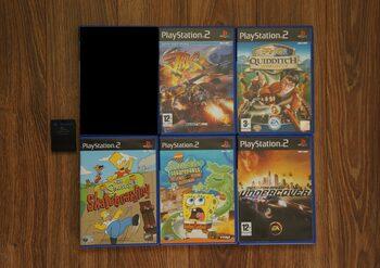 PS2 žaidimai + memory card