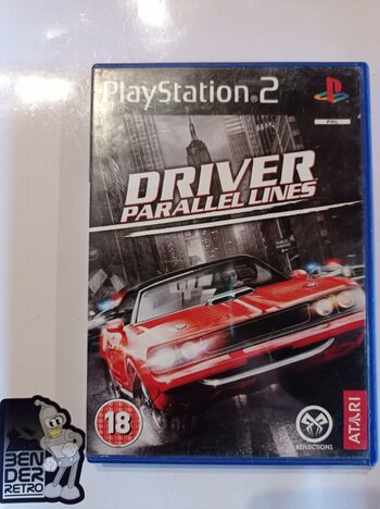 Driver Parallel Lines PlayStation 2