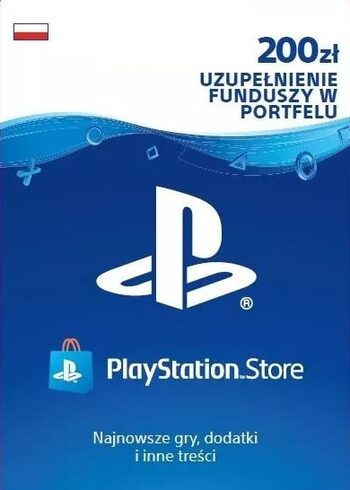 PlayStation Network Card 200 PLN PSN Klucz POLAND