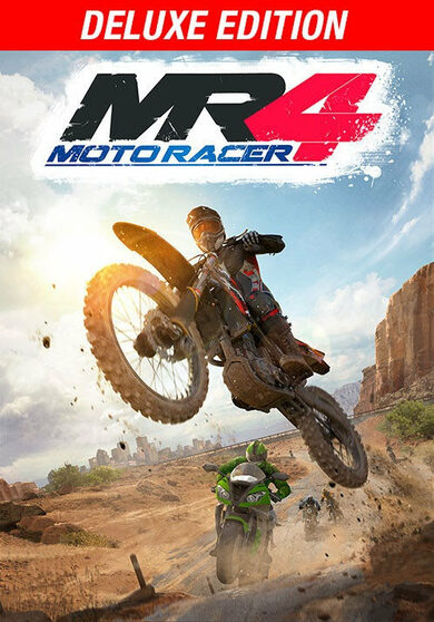 Moto Racer 4 - (Deluxe Edition) Steam Key EUROPE фото