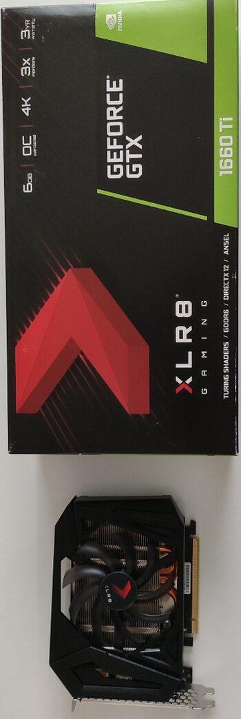 PNY GeForce GTX 1660 Ti 6 GB 1500-1770 Mhz PCIe x16 GPU