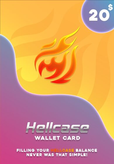 Hellcase.com Wallet Card 20 USD Key GLOBAL