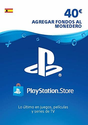 PlayStation Network Card 40 EUR (ES) PSN Key SPAIN