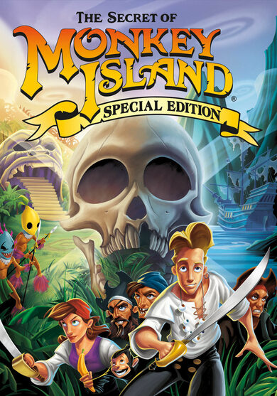 The Secret of Monkey Island (Special Edition) Steam Key GLOBAL